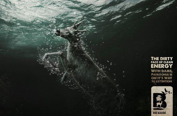 São Paulino se afogando na enchente